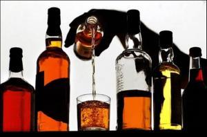 Возникновение суецида на фоне алкогольной зависимости